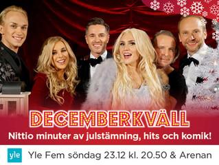 Decemberkväll on TV