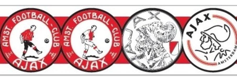 AFC Ajax Sjaal met 4 logo's