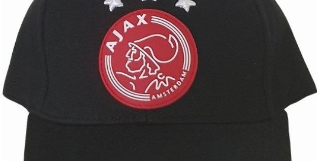 Cap AFC Ajax zwart met sterren