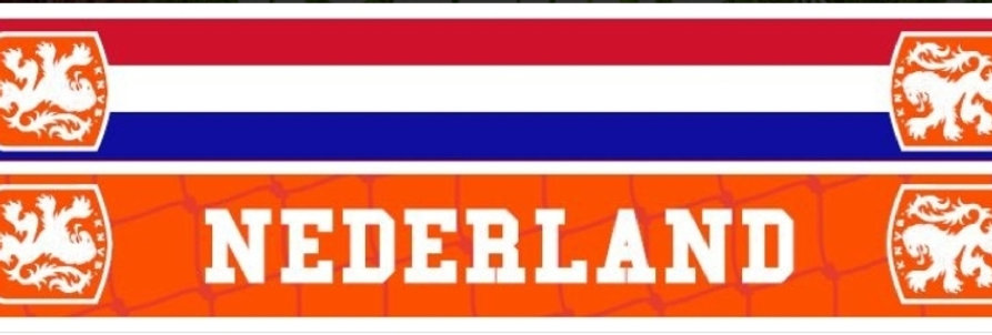 Sjaal Holland KNVB