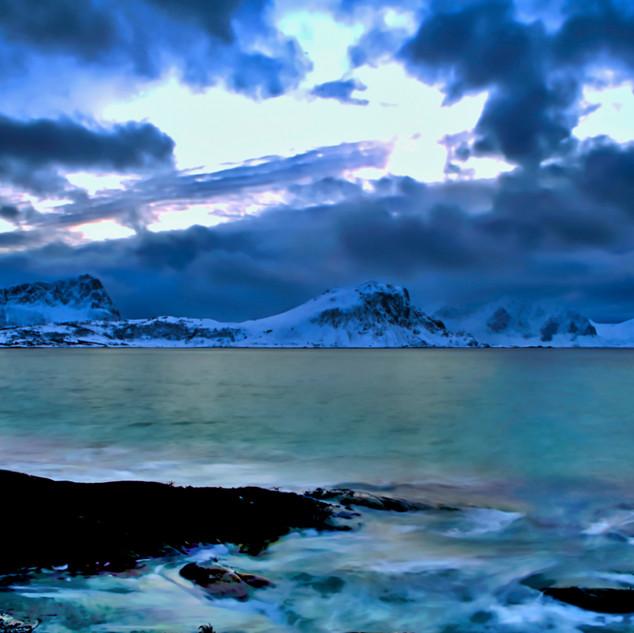 Lofoten Winter is Cold but Beautiful