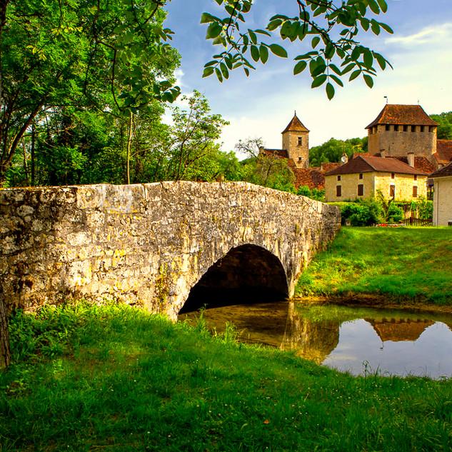 Saint-Martin-de-Vers in Southern France