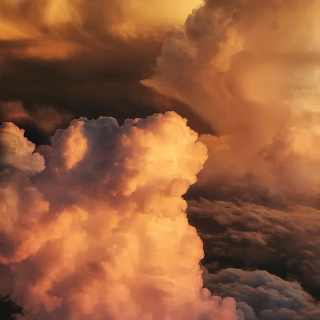 Fluffy Cumulus Cloud