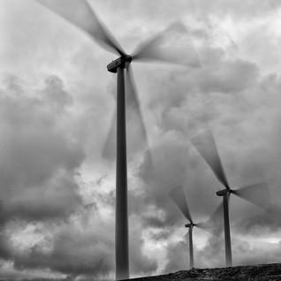 Windmills of Kodiak Island Alaska