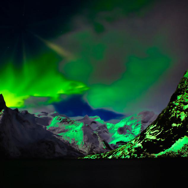 Lofoten Norway Northern Lights