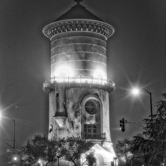 Empty Water Tower