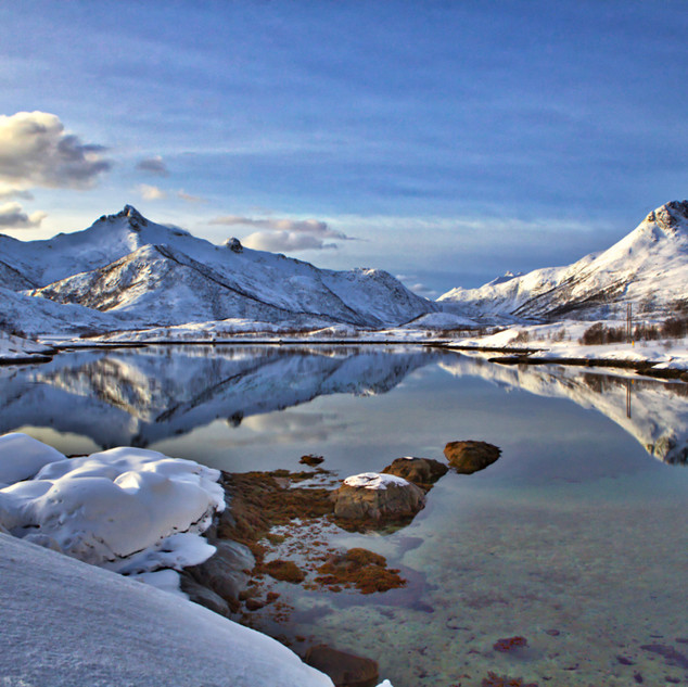 Lofoten Norway in Winter