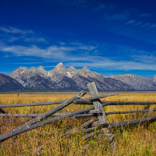 The Magnificant Tetons