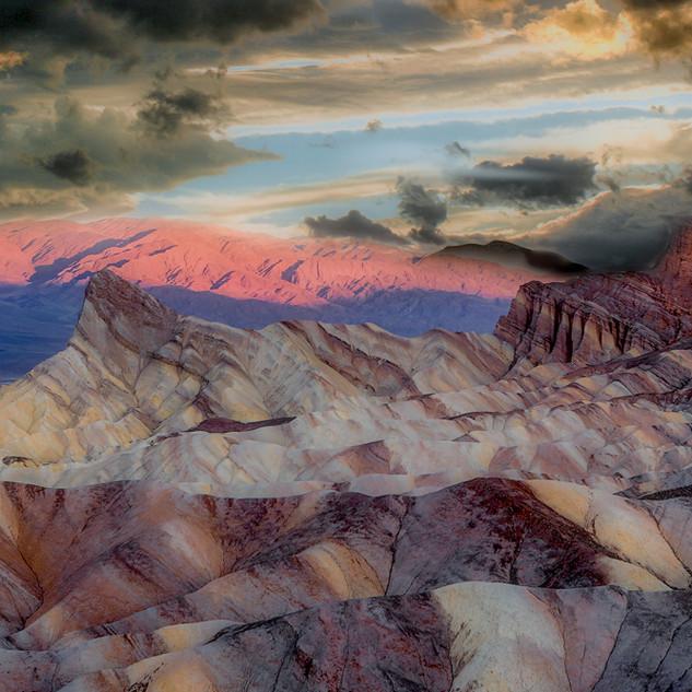Death Valley's Zabriskie Point