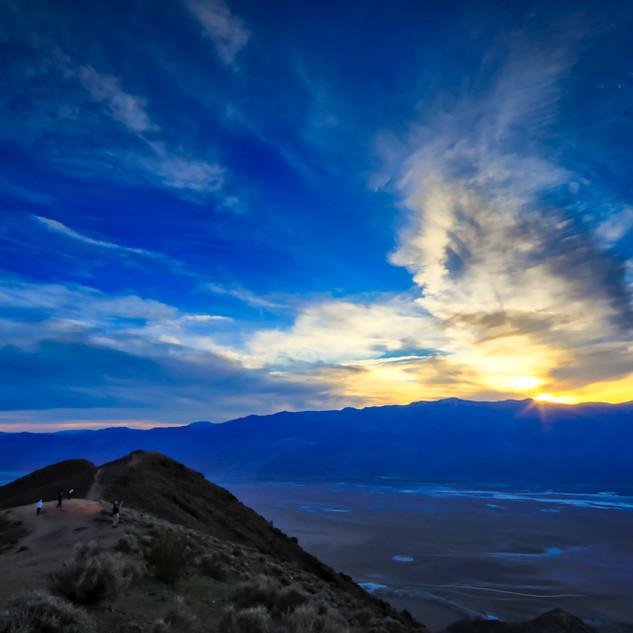 Sunset in Death Valley