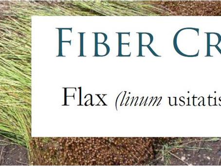 Textile Talk: Flax