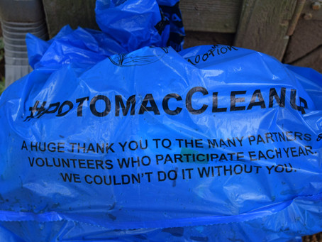 #PotomacCleanup: 2021 Trash Totals!