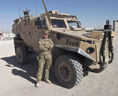 Gorden serving in the military