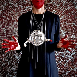 PEACE IS NOT A GAME (necklace)