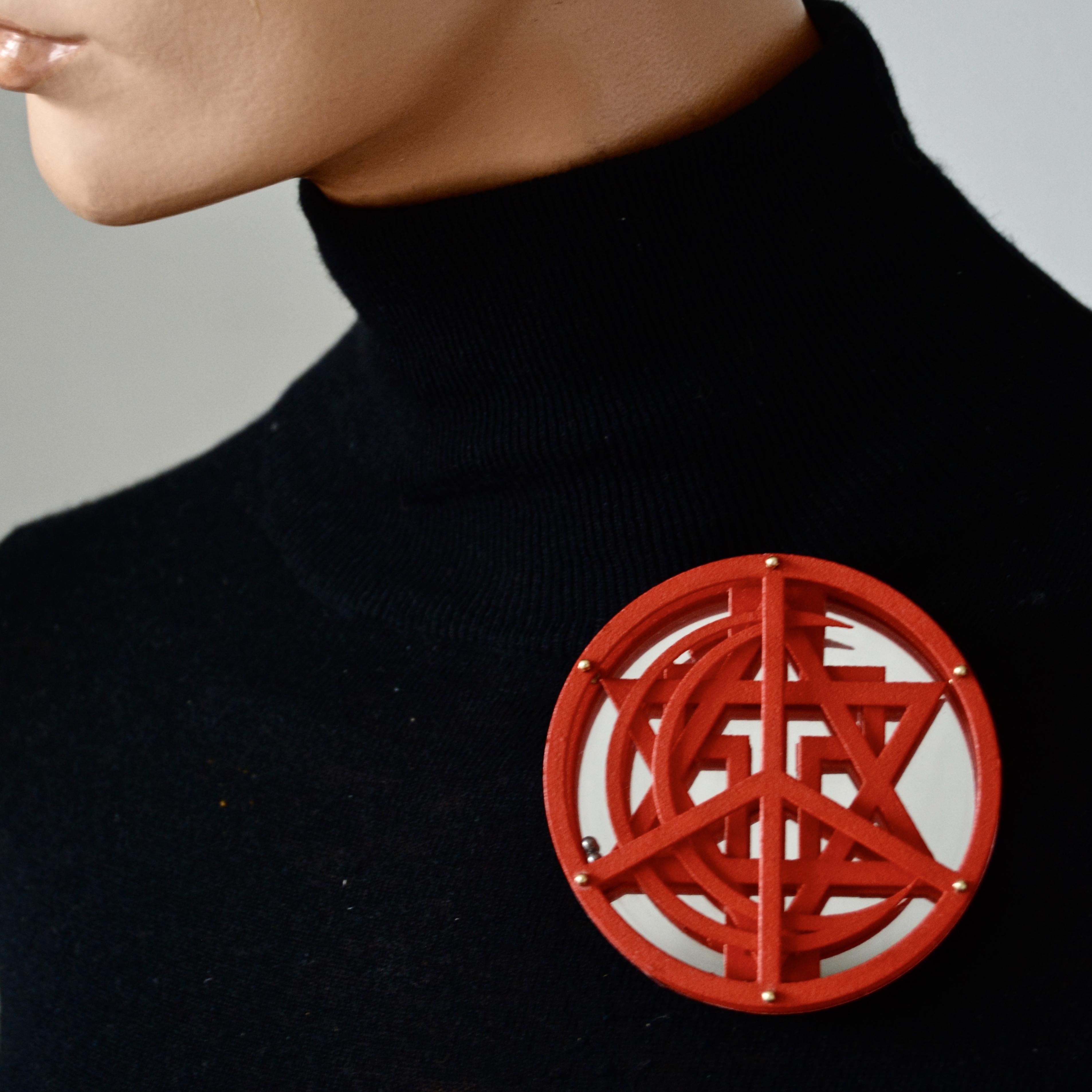 PEACE (brooch/necklace)