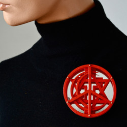 PEACE (brooch/necklace)