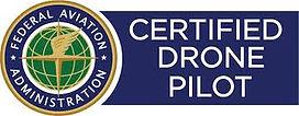 Certifed Drone Pilot Logo