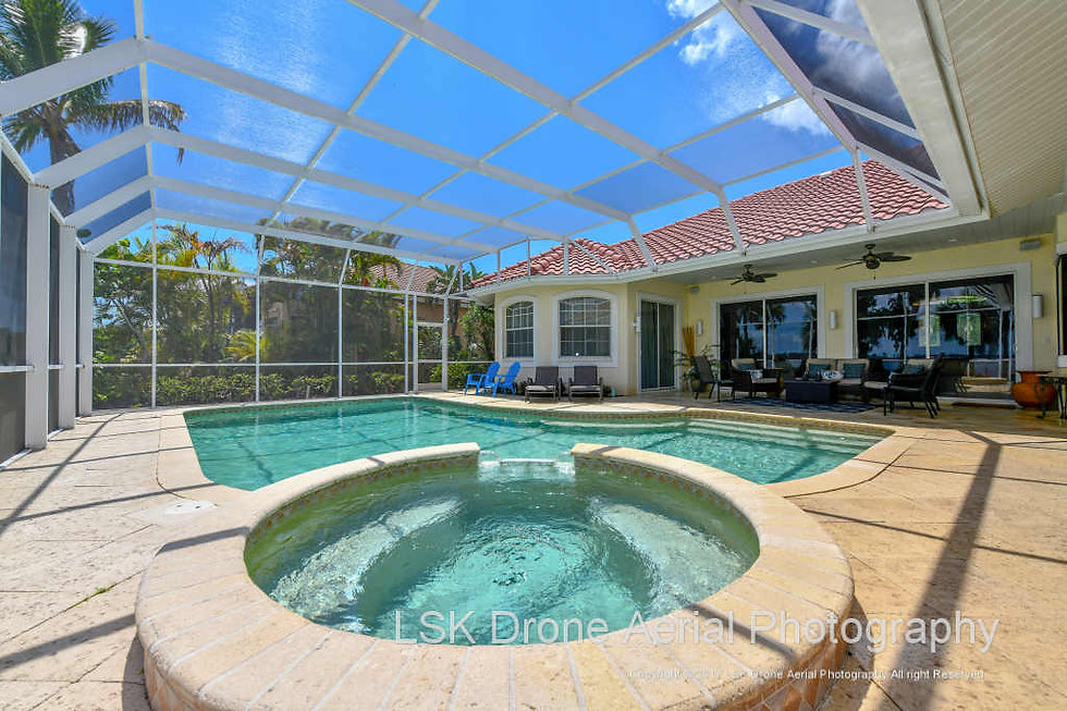 Real Estate Pool Shoot