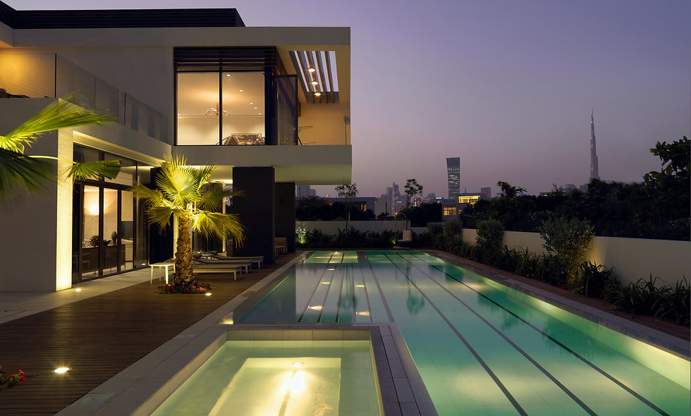 Waterfront Mansion | District One