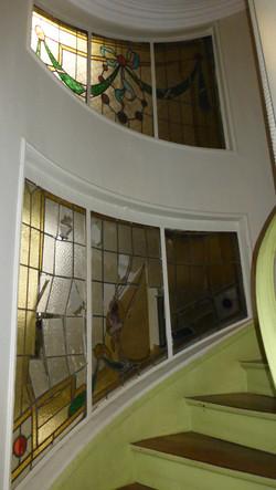 Restauration de vitraux Art déco