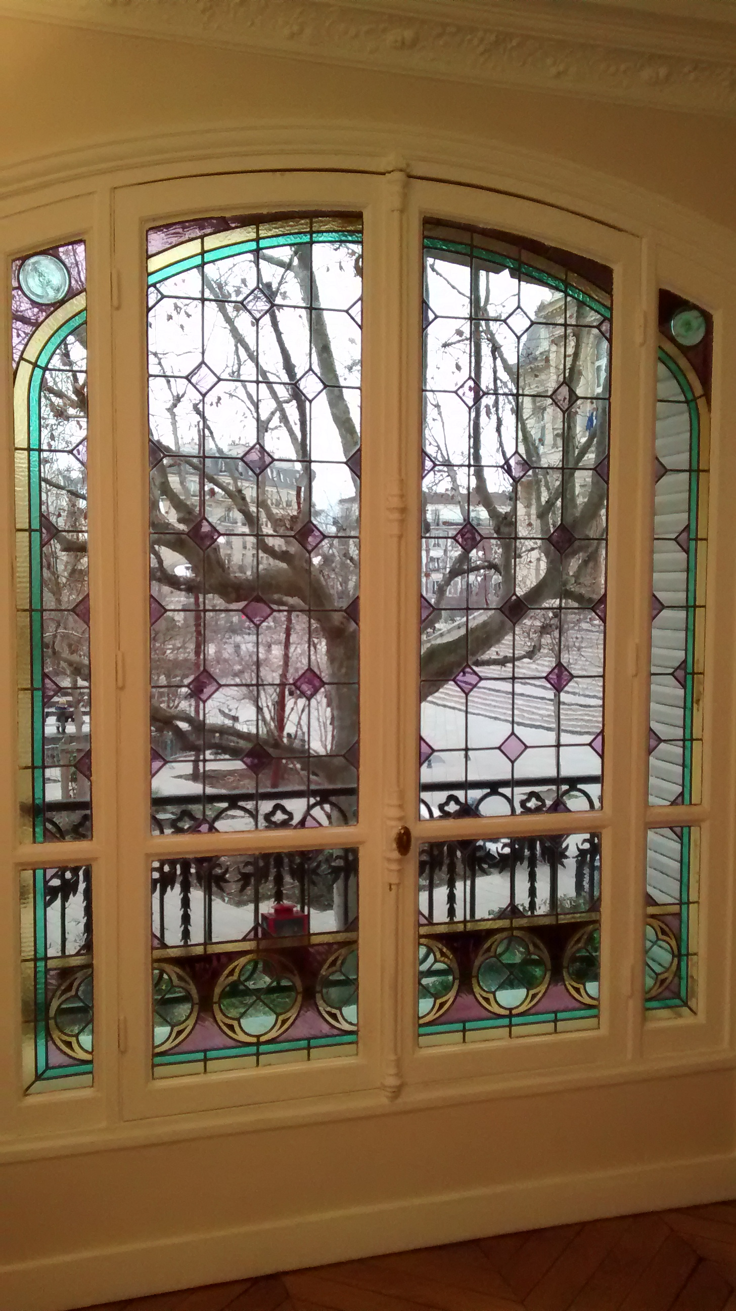 Restauration de vitraux Asnières
