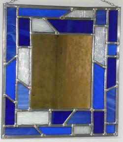 Miroir vitrail Acqua