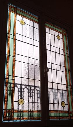 Restauration d'un vitrail Paris 16