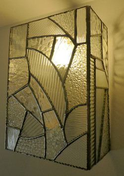 Applique vitrail Tiffany Art déco