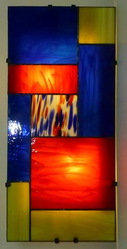 Applique vitrail Tiffany Vivacité