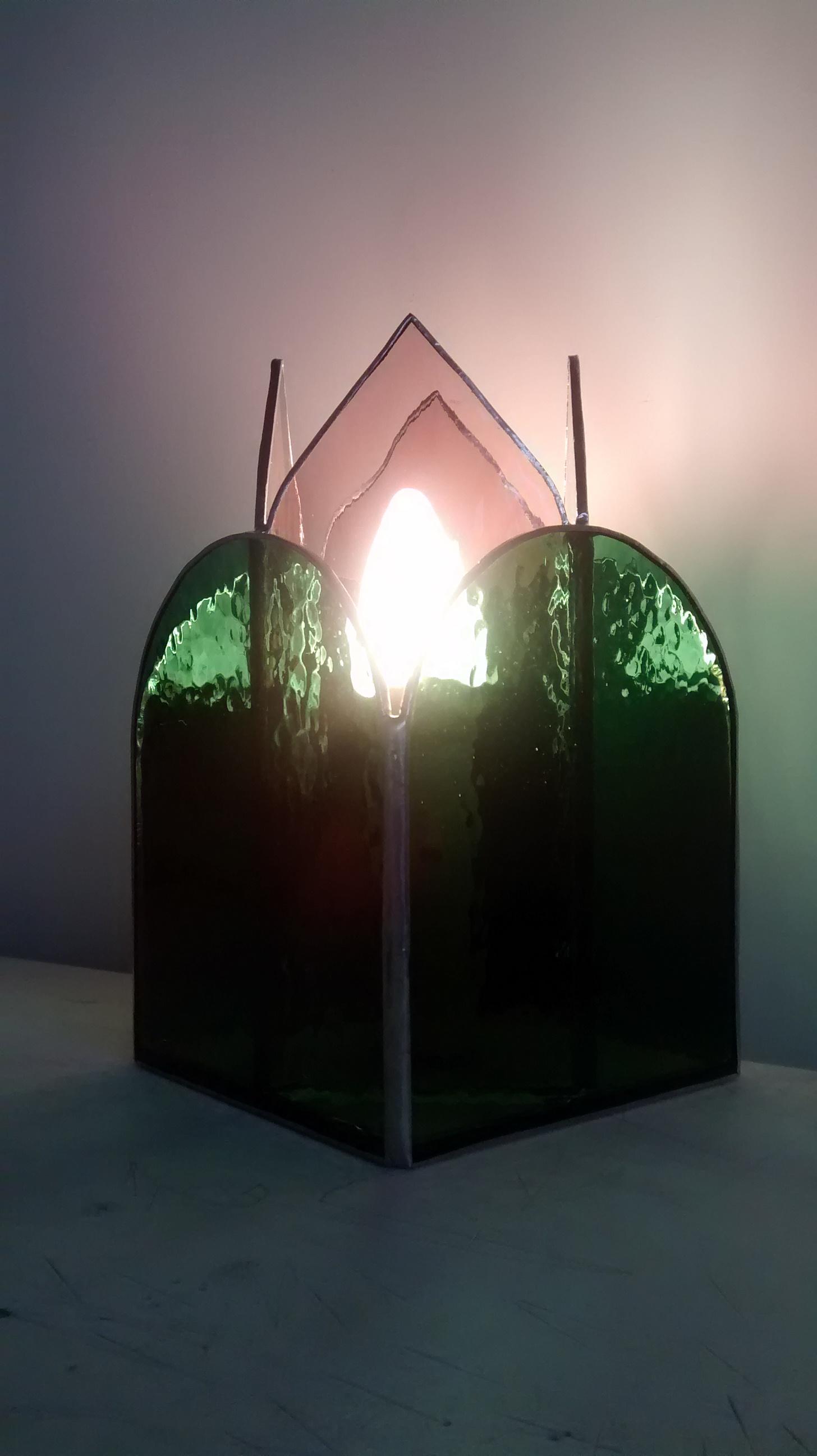 Lampe vitrail Tiffany Intimité