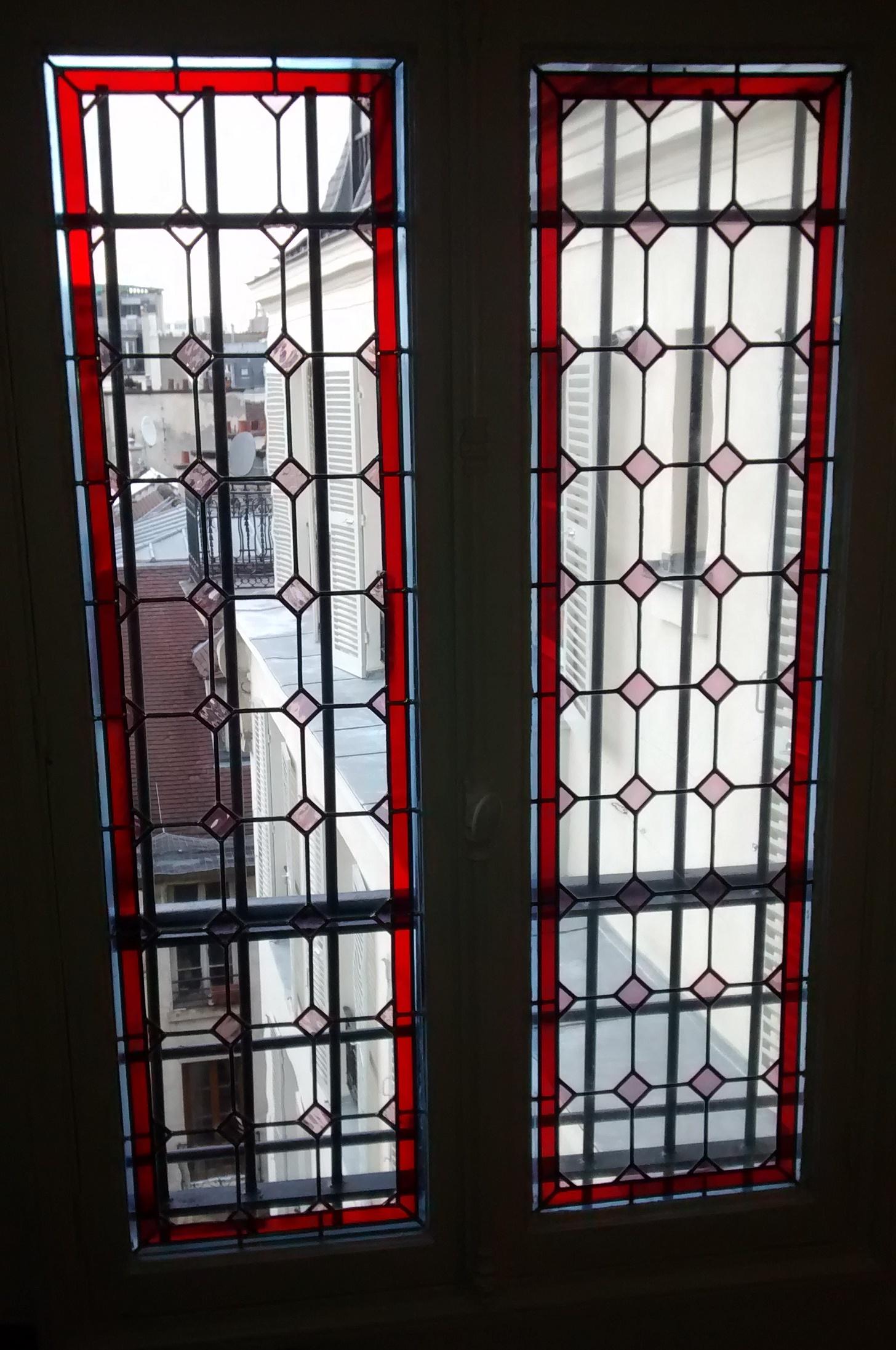 Restauration de vitraux Paris 4ème