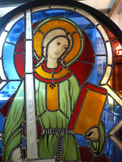 Vitrail Sainte Cécile