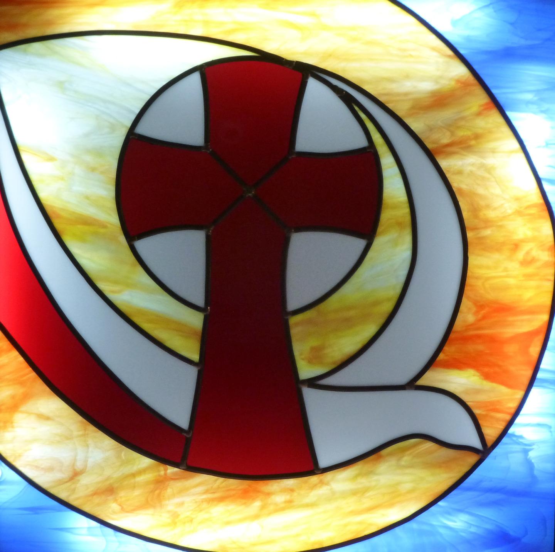 Vitrail Notre Dame du Bon Conseil