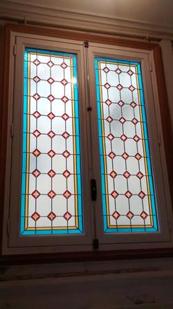Restauration de vitraux Paris 6ème