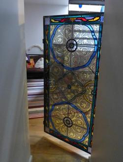 Vitrail Cage à mouche
