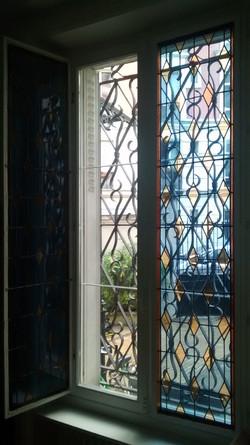 Restauration de vitraux Paris 18ème