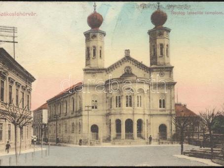Vázlat Székesfehérvár zsidóságáról - a kezdetektől a II. világháborúig