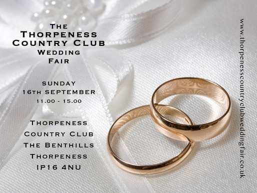 Thorpeness Country Club Wedding Fair