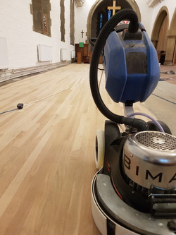 Dustless sanding in Newcastle