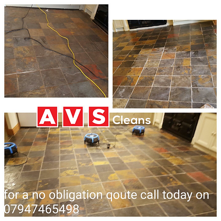 Chinese slate  floor cleaning Alnwick
