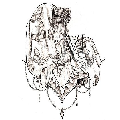 Anata no me ni chō PRINT