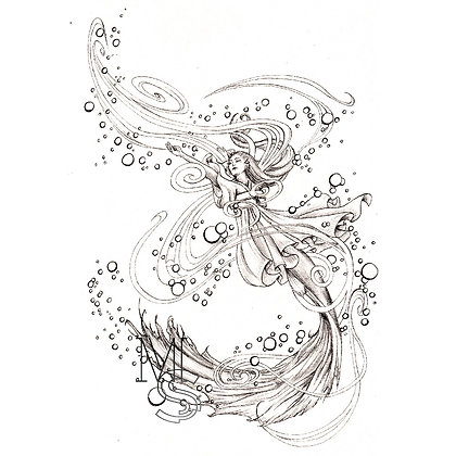 Bubble Siren PRINT