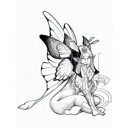 Fairy butterfly PRINT