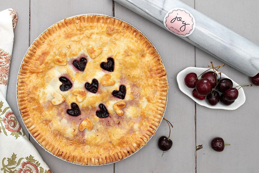 cherry amaretto pie