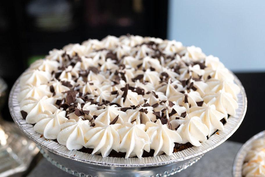 side chocolate cream