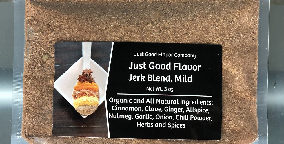 Just Good Flavor Jerk Blend. Mild