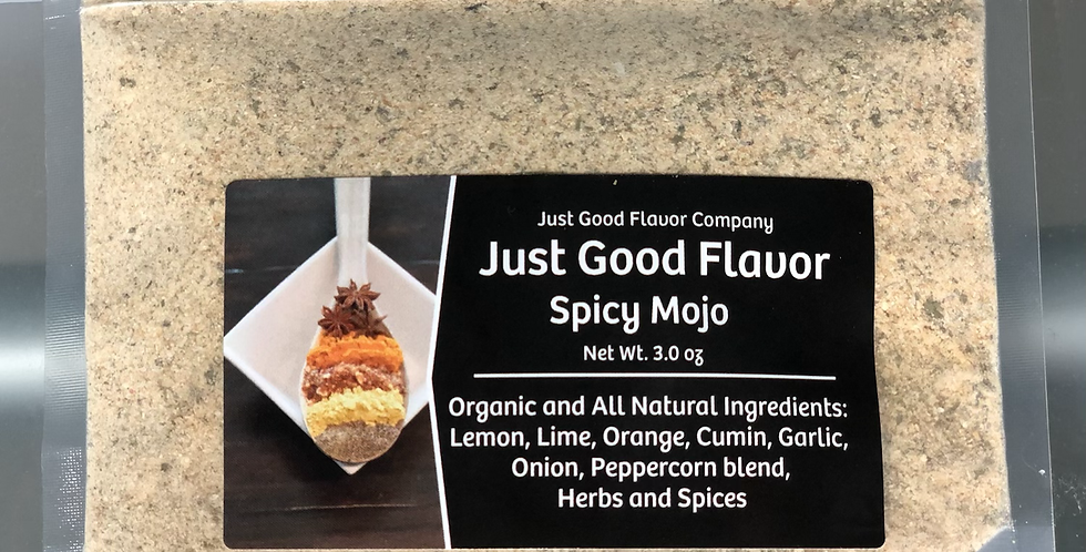 Just Good Flavor Spicy Mojo