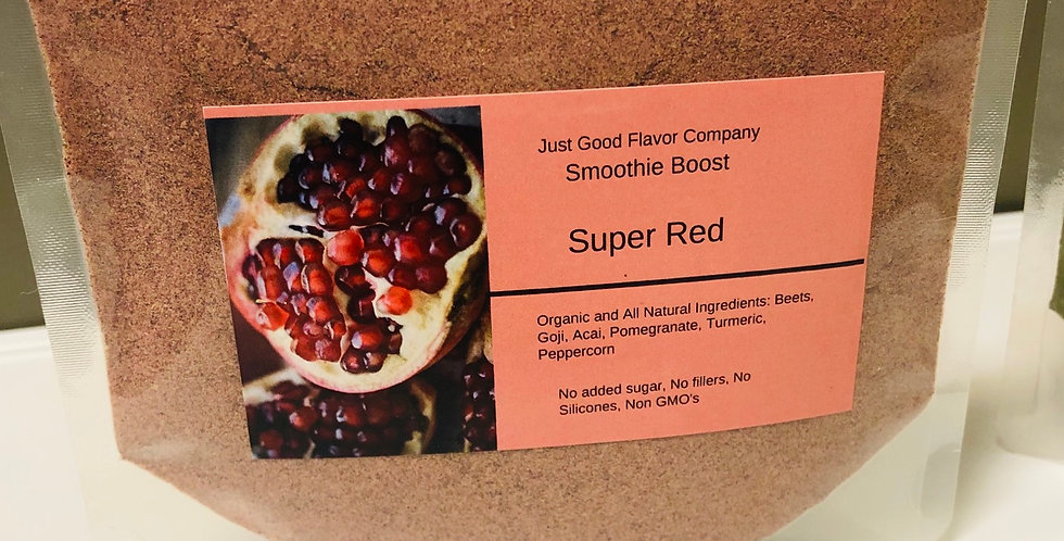 Super Red Smoothie Boost