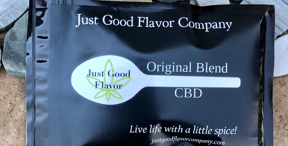 Just Good Flavor Original Blend CBD