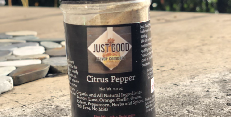 Flavor Buddies: Citrus Pepper
